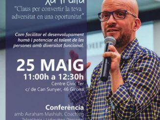 conferència avraham mashiah talent persones discapacitat