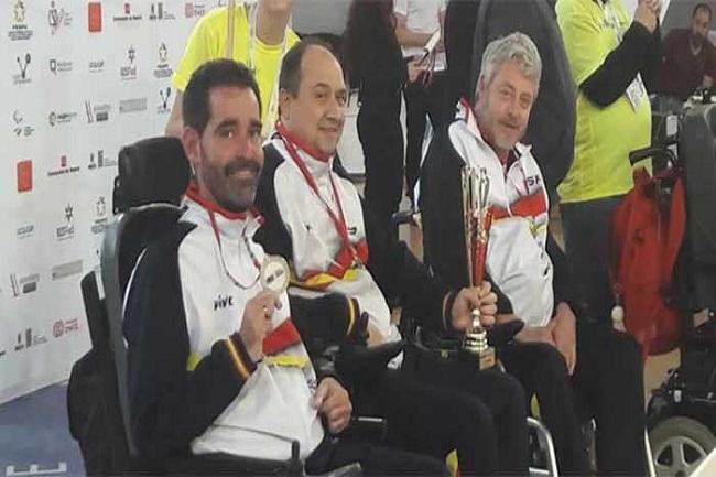 vasile agache ramon prat medalles campionat boccia bisfed