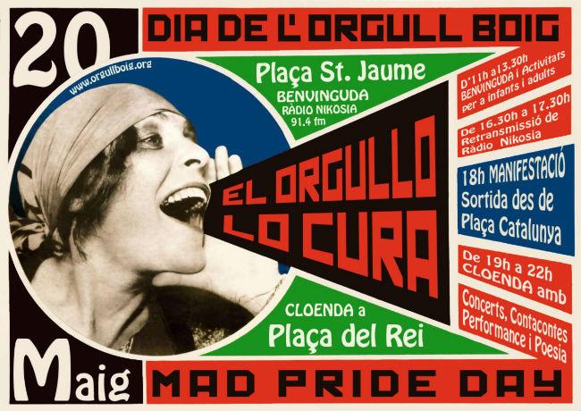 La ciutat de Barcelona se suma per primera vegada a la celebració del Dia de l'Orgull Boig
