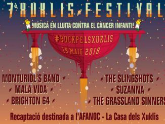 cartell xuklis festival pla montbau