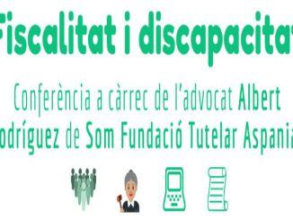 conferencia fiscalitat discapacitat intel·lectual fupar