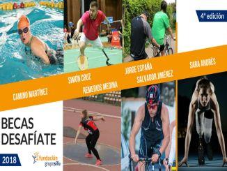 Becas Desafiate 2018 guanyadors esportistes discapacitat