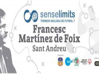 Martínex Foix torneig futbol 7 inclusiu