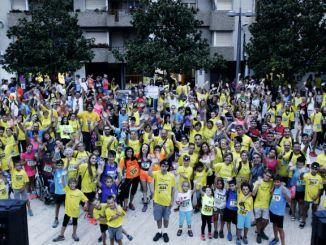 La Somnàmbula cursa solidària nocturna participants