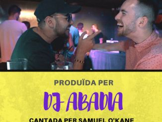 cartell para mi videoclip musical DJ Abadia