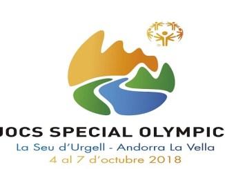 cartell jocs especial olympics 2018 lloret de mar foc olímpic