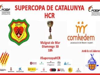 cartell supercopa catalunya lliga catalana hoquei cadira rodes electrica