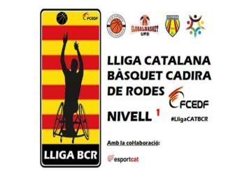 victòries lliga catalana bàsquet cadira rodes nivell 1