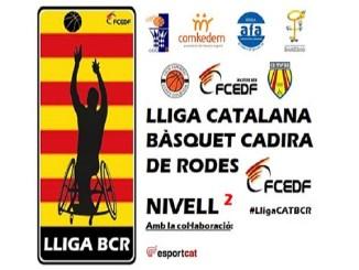 equips lliga catalana basquet cadira rodes nivell 2