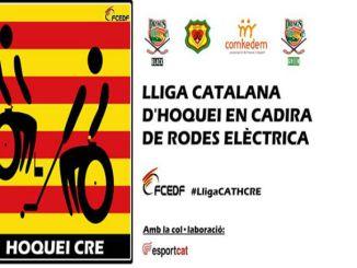 lliga catalana hoquei cadira rodes elèctrica quatre equips