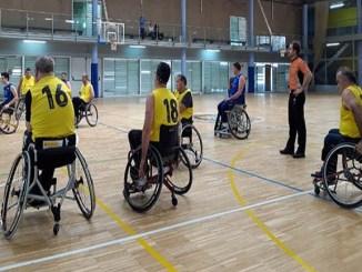 basquet cadira rodes nivell 2 partits sisena jornada