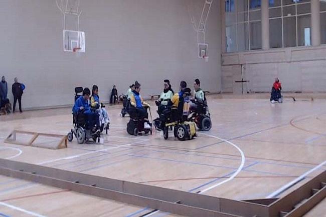 dracs cea primera victòria hoquei cadira rodes electrica