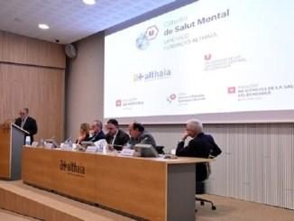 preentació primera càtedra salut mental catalunya