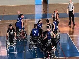 victòria cb costa daurada líder solitari lliga catalana bàsquet cadira rodes nivell 2