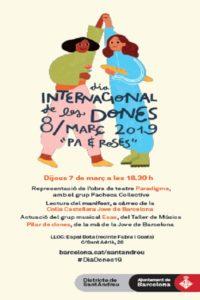cartell taula rodona districte sant andreu discriminació dones discapacitat