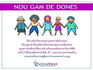 grup ajuda mutua dones salut mental
