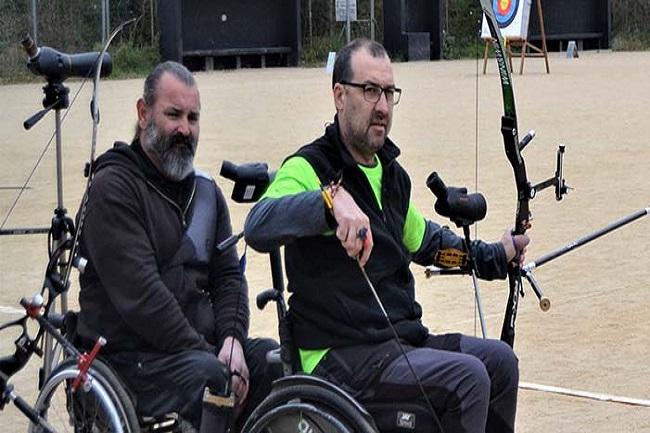 arquers arc adapat lliga catalana tir amb arc