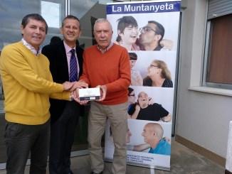 donació bankia instal·lació sistema grues la muntanyeta