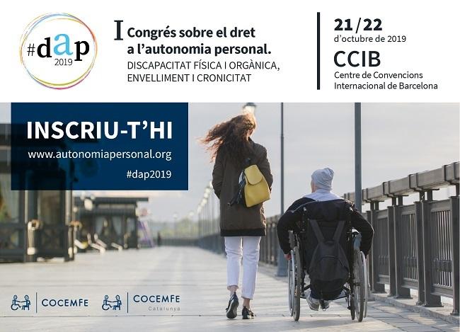termini inscripcions congres autonomia personal cocemfe barcelona
