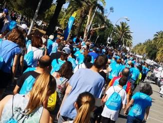 persones 6a caminada solidària escola arboç mataró