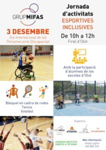 mifas la garrotxa jornada esport inclusiu