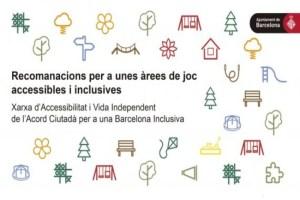 barcelona guia recomanacions arees joc accessibles inclusives