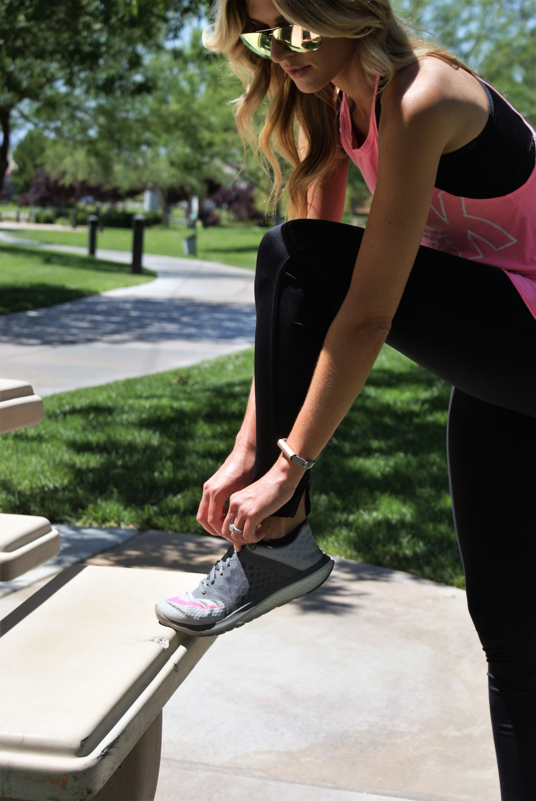 Working Out With Misfit Fitness Tracker- Diariesofdanielle.com