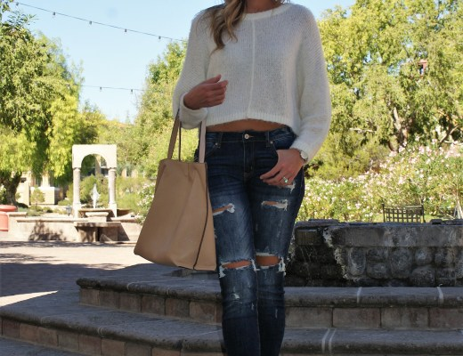 Fall Edit: Cropped Sweaters x Distressed Denim