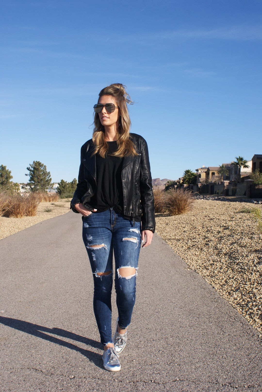 A Casual Weekend Look & Learning How To Embrace Change