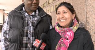 Ilsa Guzmán feliz de estar una vez más entre sus seres queridos después de haber sido detenida por ICE en St Louis en un proceso de deportación: Diario Digital