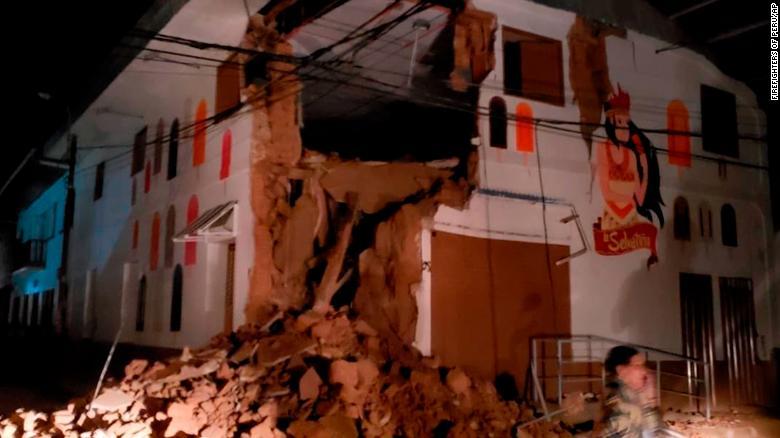 Terremoto de intensidad 8.5 sacude el Perú 1