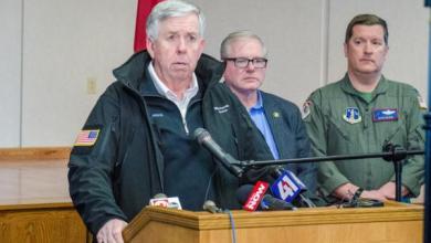 Photo of Gobernador de Missouri activa la Guardia Nacional por inundaciones