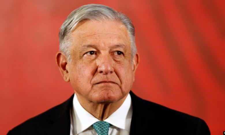 Presidente de México López Obrador en Rueda de Prensa