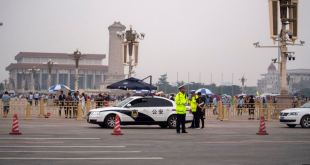 Plaza Tiananmen, China.