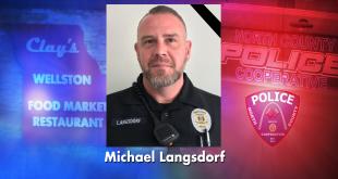 Policía Asesinado Michael Langsdorf