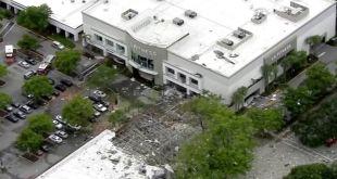 Mall de Plantation, Florida donde explotó una línea de gas