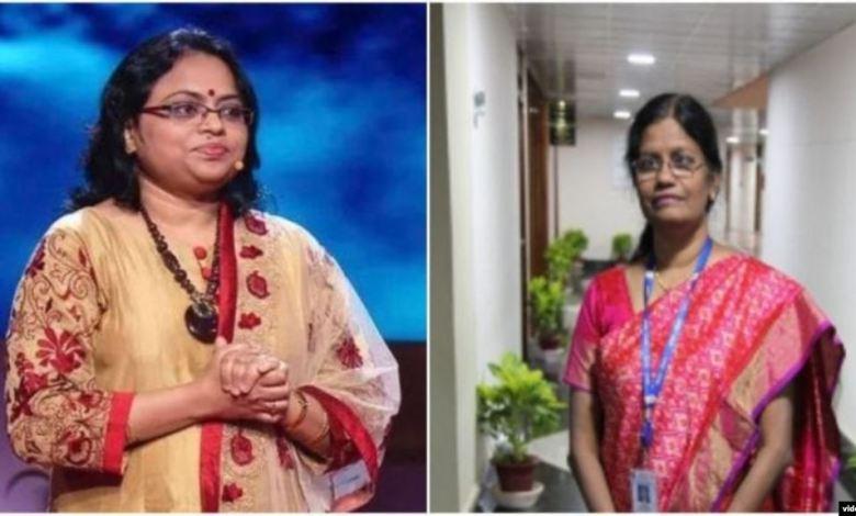 Dos mujeres indias al frente de misión lunar 1