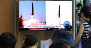 Corea del Norte lanza un nuevo tipo de misiles balísticos de corto alcance 9