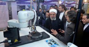 Líder Iraní en exposición de tecnología