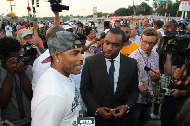 Nelly en Ferguson 2