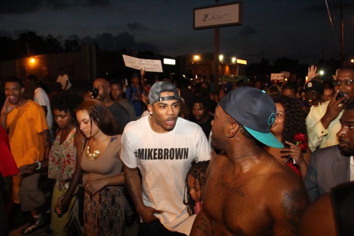 Nelly en Ferguson