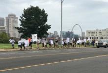 Photo of Marcha de solidaridad por segundo aniversario de Alex Garcia en Santuario