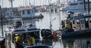 Suspenden búsqueda de sobrevivientes en incendio de bote en California 1