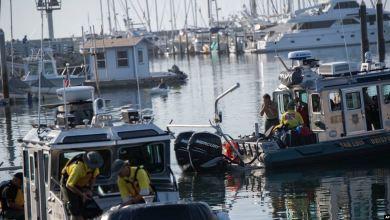 Suspenden búsqueda de sobrevivientes en incendio de bote en California 4