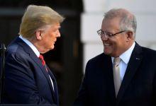 Trump recibe en la Casa Blanca al primer ministro de Australia Scott Morrison 6