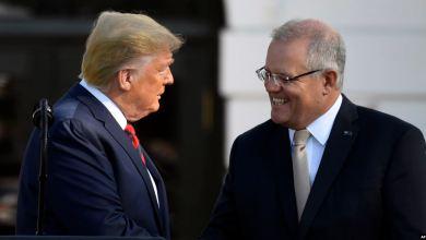Trump recibe en la Casa Blanca al primer ministro de Australia Scott Morrison 4
