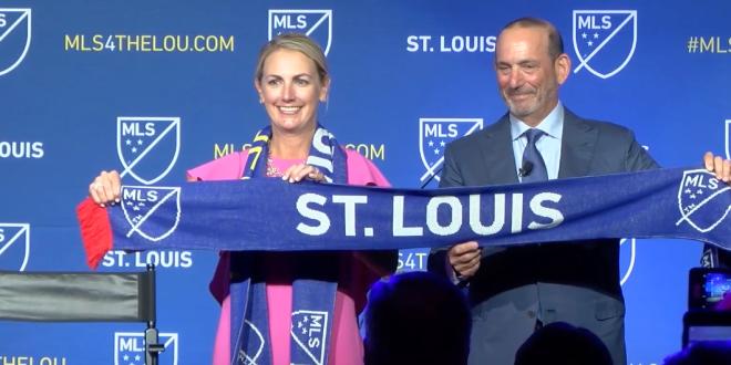 Nueva Fraquicia de MLS en St. Louis busca nombre para el futuro equipo 3