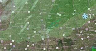 Lluvia, Frio y hasta nieve llegan al área de K.C. 5