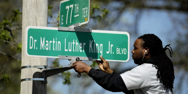 Kansas City vota en eliminar el nombre de Martin Luther King Jr. Bulevar 1