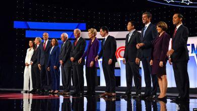 Contendientes presidenciales demócratas debaten por quinta vez 3